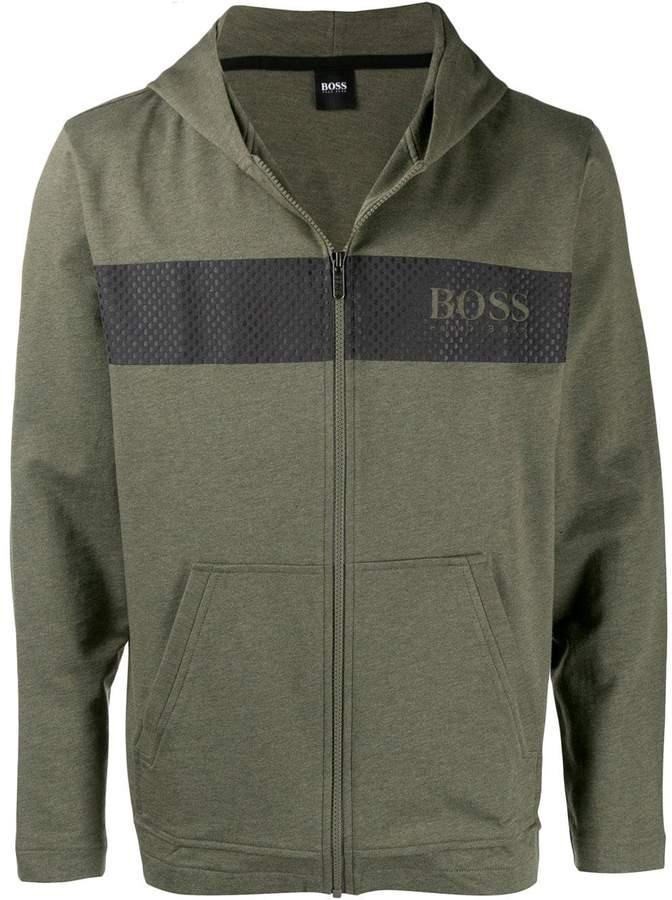 eac4e4dce printed hooded jacket