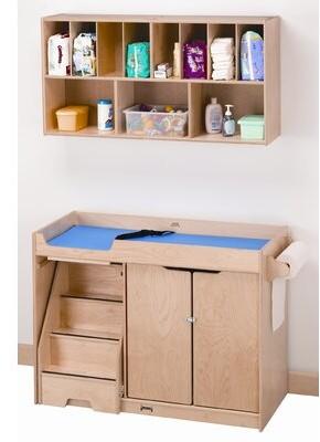 Jonti-Craft Changing Table Dresser with Pad