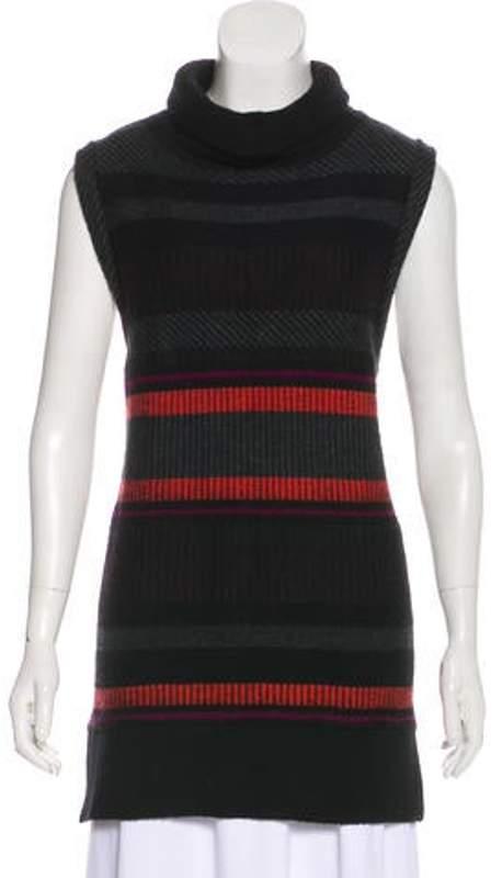 Proenza Schouler Turtleneck Medium-Weight Sweater Black Turtleneck Medium-Weight Sweater