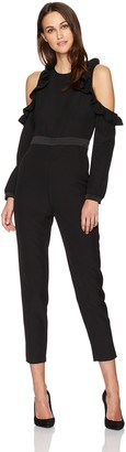Devlin Women's Fast Fashion Women's Roseanne Combo Jumpsuit