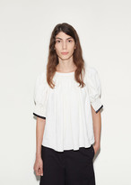 Lemaire Gathered Linen Blouse