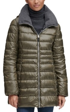 Andrew Marc Hooded Puffer Coat