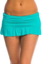 Kenneth Cole Reaction The Ruffle Shuffle Rouched Swim Skirt 8139380