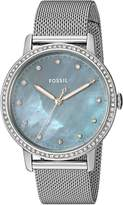 Fossil Women's 'Neely' Quartz Stainless Steel Casual Watch, Color:-Toned (Model: ES4313)