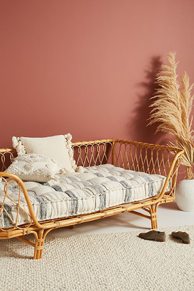 Anthropologie Boro Stripe Daybed Cushion By in Blue Size ALL