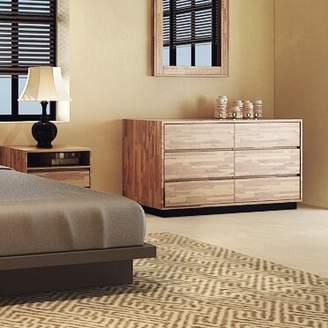 Remington Millwood Pines 6 Drawer Double Dresser Millwood Pines
