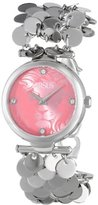 Versus By Versace Women's SGW020013 Paris Lights Analog Display Japanese Quartz Silver Watch