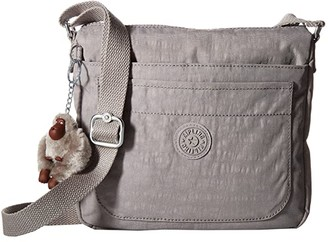 Kipling Sebastian Crossbody (Slate Grey 1) Cross Body Handbags