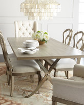 Bernhardt Gant Metal-Base Dining Table