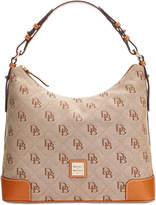 Dooney & Bourke Americana Signature Erica Hobo, Created for Macy's