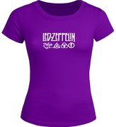 Led Zeppelin Printed Tops T shirts Led Zeppelin Printed For Ladies Womens T-shirt Tee Tops