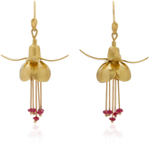 Annette Ferdinandsen 18K Gold Ruby Earrings