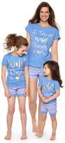 Asstd National Brand 2-pc. Shorts Pajama Set- Toddler Girls