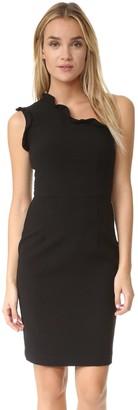 Black Halo Women's Pravella One Shoulder Dress