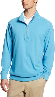 Cutter & Buck Men's Big-Tall Rylands Half Zip Sweater