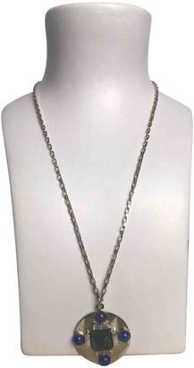 Philippe Ferrandis Silver Metal Necklaces