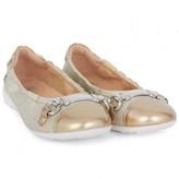 Naturino Gold Ballerina Pumps