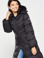 Armani Exchange Padded Coat - Black