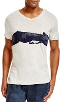 Sol Angeles Slub Spray Wave V-Neck Tee