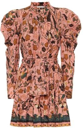 Ulla Johnson Naima floral cotton minidress
