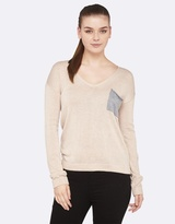Oxford Petra V-Neck Knit