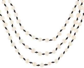 Splendid Pearls 2.3-6Mm Freshwater Pearl Endless Necklace