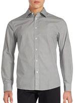 Ben Sherman Classic-Fit Dot Print Casual Shirt