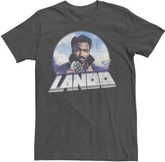 Star Wars Men's Young Men Lando Profile Tee