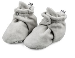 The Peanut Shell The Baby Unisex Fleece Booties
