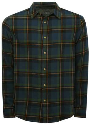 M&Co Tartan check shirt
