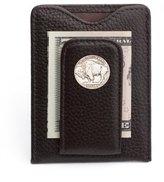 Tokens & Icons Buffalo Nickel Money Clip Wallet - (80B-BRN)