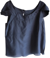 Chloé Blue Silk Top