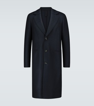 Harris Wharf London Single-breasted pressed wool coat