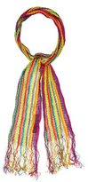 Missoni Fringed Rainbow Scarf