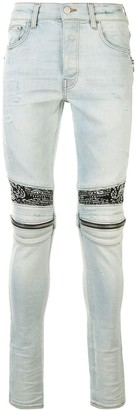 Amiri MX2 Bandana skinny jeans