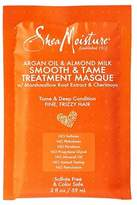 Shea Moisture Argan oil & almond milk smooth & tame treatment masque by for unisex masque, 2 Ounce