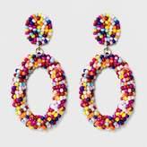 SUGARFIX by BaubleBar Beaded Hoop Earrings