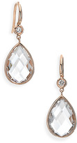 Ivanka Trump 'Mixed Cut' Diamond & Rock Crystal Drop Earrings