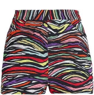 Missoni Printed Cotton-blend Crochet-knit Shorts