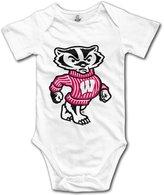 Small Rivers Wisconsin Badgers Men's Basketball Baby Onesie Toddler