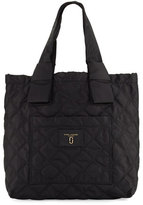 Marc Jacobs Quilted Nylon Knot Tote Bag, Black