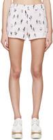 Kenzo Pink Cartoon Cactus Shorts