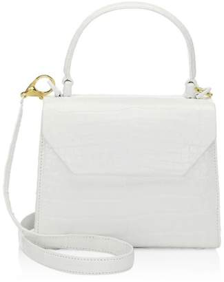 Nancy Gonzalez Mini Lily Crocodile Top Handle Bag
