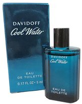 Davidoff Cool Water By For Men, Mini .17 fl. oz. 5 ml