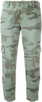 Current/Elliott cropped cargo trousers - women - Cotton - 25