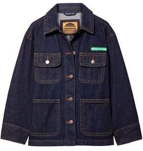Marc Jacobs Logo-appliqued Denim Jacket