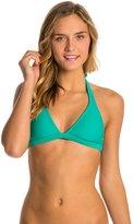 Roxy Swimwear Essentials 70s Halter Bikini Top 8124798