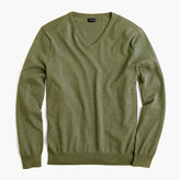 J.Crew Cotton-cashmere V-neck sweater