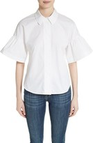 Burberry Tansy Bell Sleeve Shirt