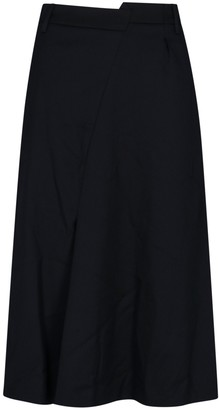 MM6 MAISON MARGIELA Asymmetric Midi Skirt